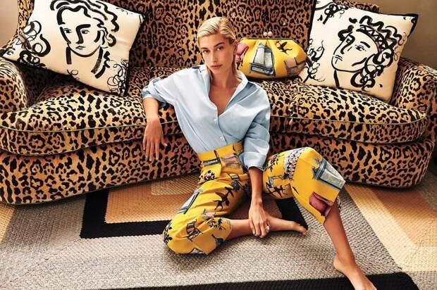 Как носить леопард и быть в тренде: 6 примеров от Хайли Болдуин