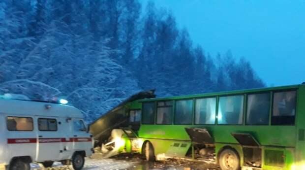 МВД Пермского края назвало возможного виновника ДТП с 15 пострадавшими
