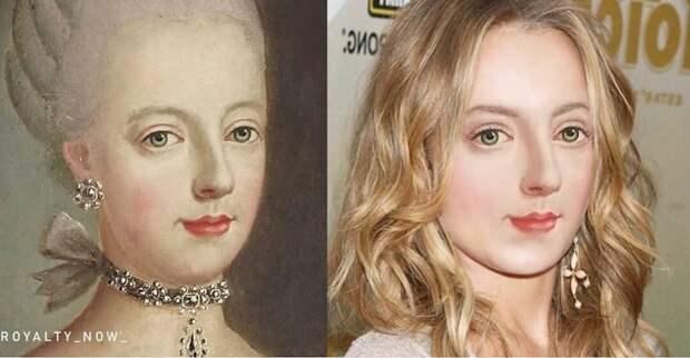 Молодая дизайнер со вкусом показала, как выглядели бы в наши дни Цезарь, Наполеон, Анастасия Романова, Мона Лиза и другие