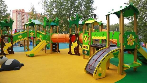 Подмосковные детские игровые площадки проверят на соответствие евростандартам