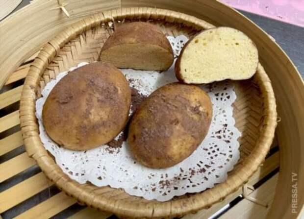 Самые необычные булочки в виде мандарин