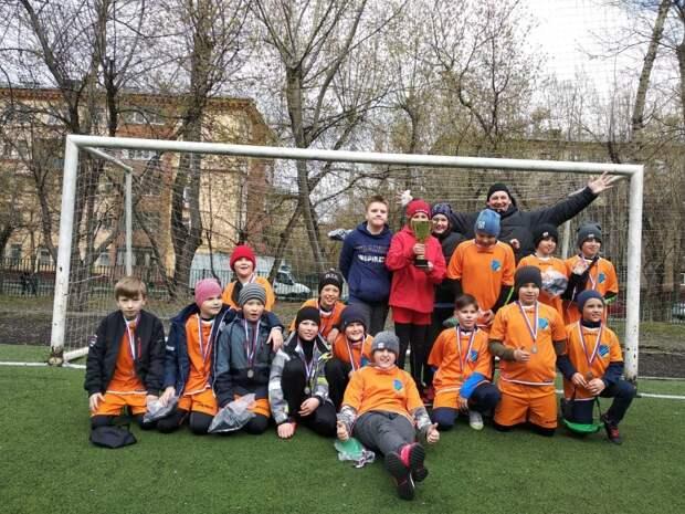 Юные футболисты из Северного взяли серебро на окружном турнире