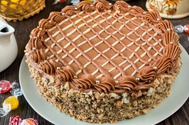 Киевский торт по ГОСТу. Пошаговый классический рецепт