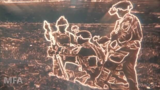 Прибор ночного видения армии США делает поле боя похожим на видеоигру