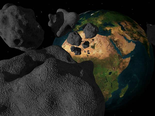 NASA: К Земле со скоростью 60 тыс. км/ч мчится огромный астероид