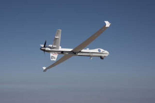Первый самостоятельный полёт большого дрона в гражданском воздушном пространстве