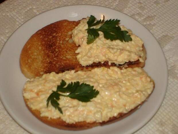 Еврейская намазка на хлеб
