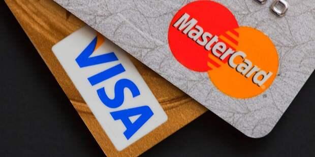ЦБ оценил риски отключения России от Visa и MasterCard