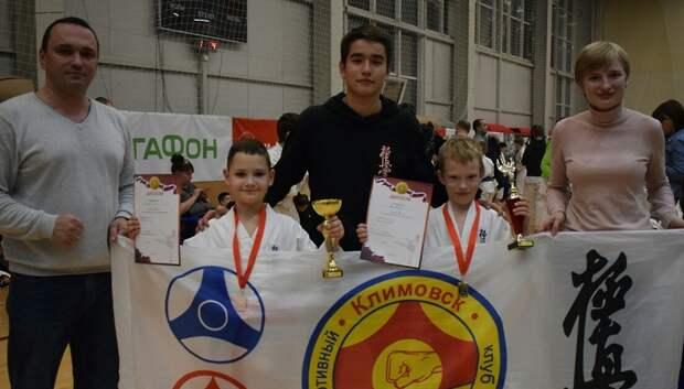 Спортсмен из Подольска победил в соревнованиях по карате‑кекусинкай в Реутове