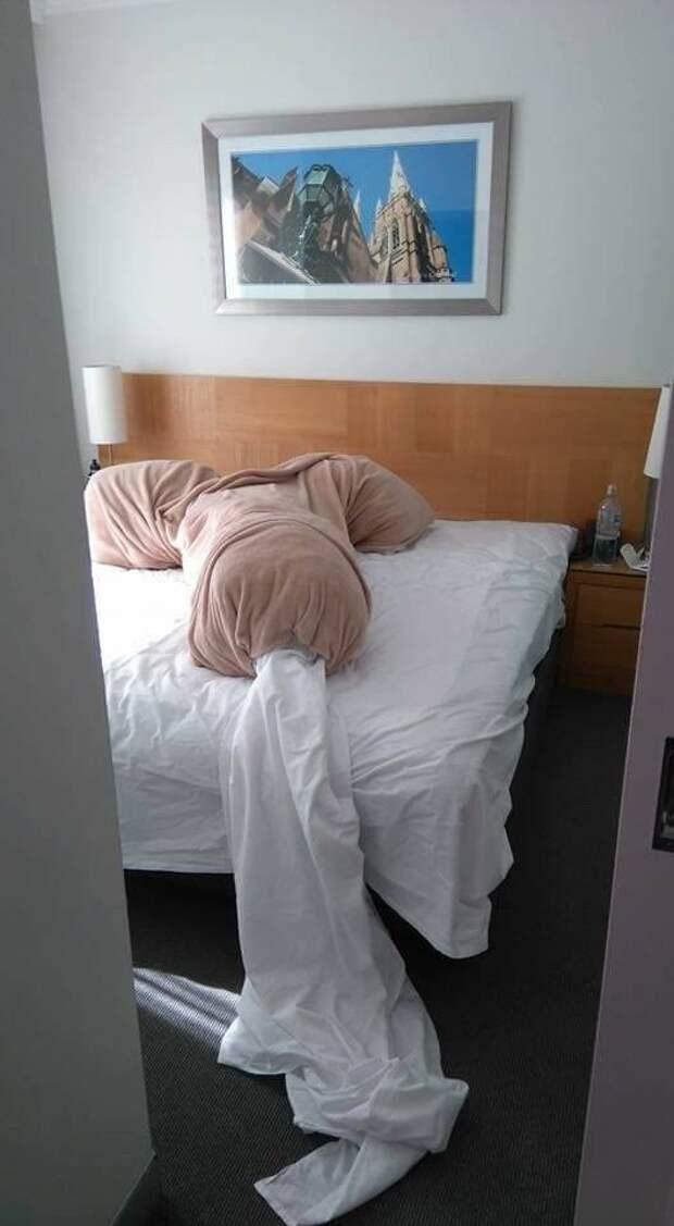 Лебеди из полотенец сейчас не в моде Отель, анапа, бали, гостиница, плацкарт, поезд, россия, тагил