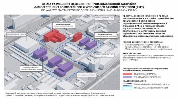 Промзона Выхина-Жулебина обеспечит жителей новыми рабочими местами