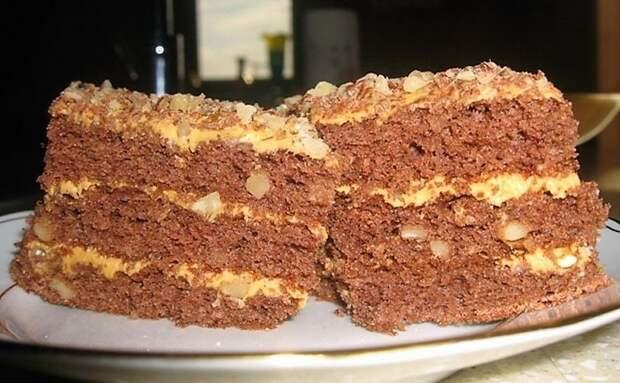 Торт «Золотой ключик». Простой, но очень вкусный рецепт