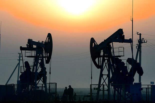 На нефтяном месторождении