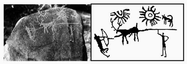 На камнях из Индии нашли изображение апокалипсиса, произошедшего тысячи лет назад