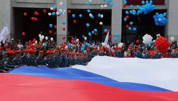 Флаг. Фото: Дмитрий Дунько