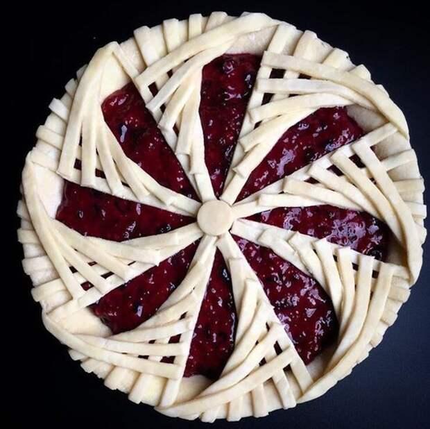 Как красиво оформить пирог 4