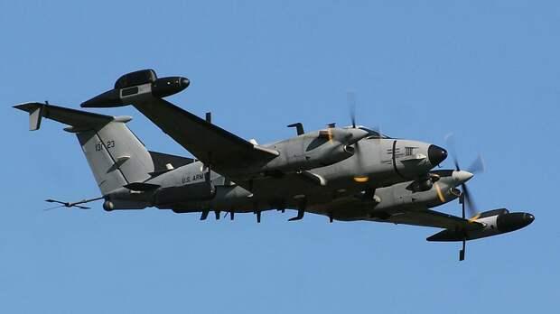 Два самолета армии США провели разведку у границ Белоруссии