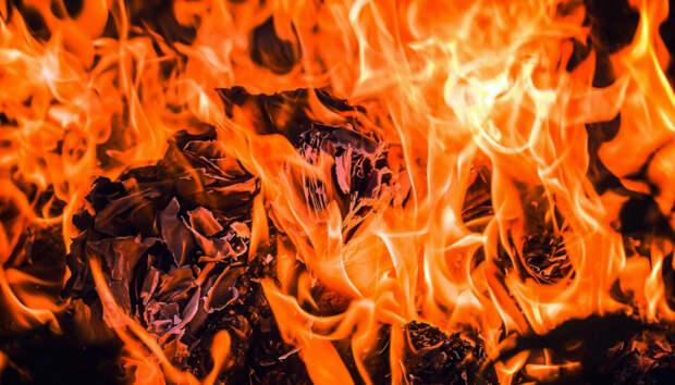 Сегодня ночью сгорел жилой дом в Пряжинском районе Карелии