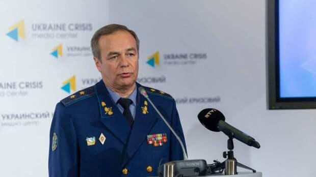Украинский генерал Игорь Романенко