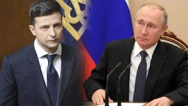 Зеленский пожаловался на нежелание Путина обсуждать Крым