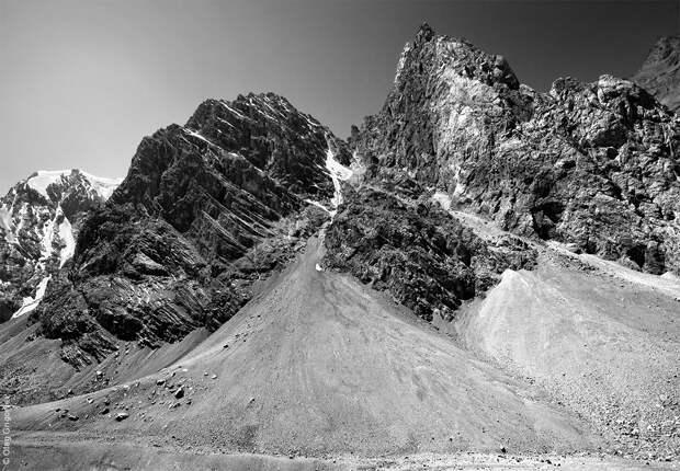 bnwmountains14 Черно белые фотографии гор