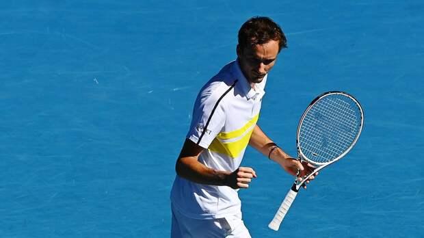 Русский теннисист уничтожил американца и установил личный рекорд