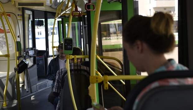 Во вторник число поездок в автобусах Подмосковья выросло на 8%