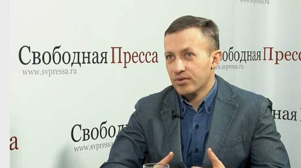 Директор Института национальной энергетики Сергей Правосудов