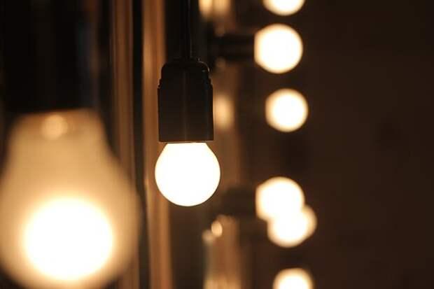 Лампочки, Освещенный, Свет, Пятно, Боке