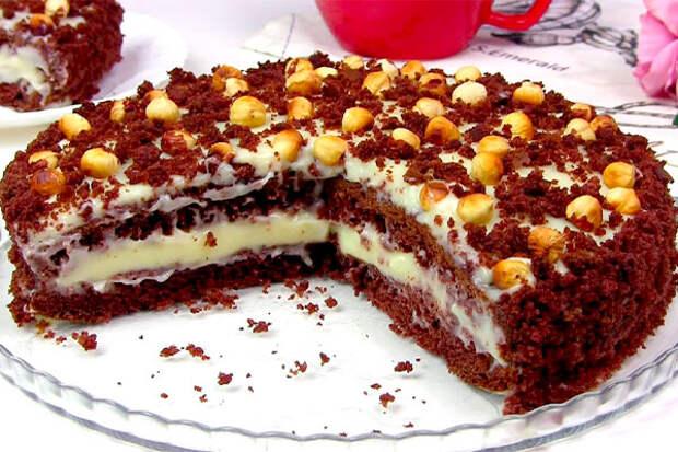Торт «Фантазия». Готовится быстро и просто