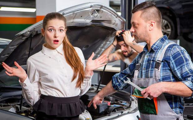 Хозяйка два года ждала из ремонта Mitsubishi Lancer, а его продали…