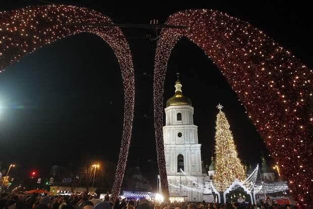 Как Киев готовится к Новому году