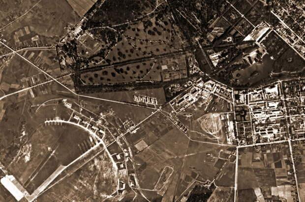 Аэрофотосъемка лета 1939 года: аэродром Пушкин в районе Ленинграда - Крылатые предвестники войны | Warspot.ru