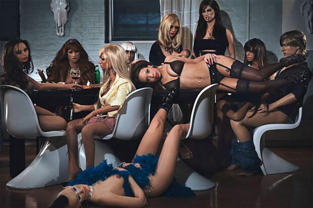 Секс-куклы в фотопроекте Стейси Ли «Средние американцы» 11