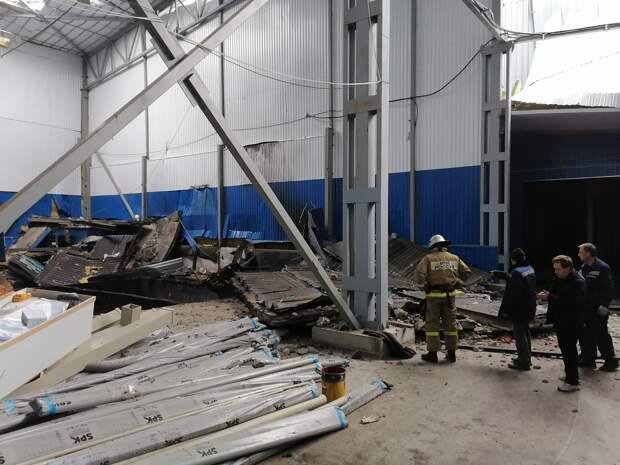 В Мценске Орловской области из-за взрыва на стройке погибли 5 человек