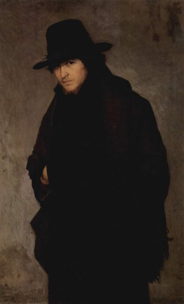 Николай Ярошенко, «Студент», 1881.