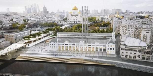 Собянин назвал сроки завершения реставрации исторической ГЭС-2. Фото: mos.ru