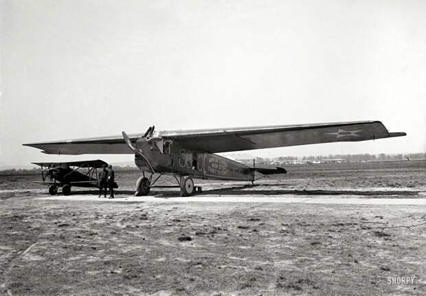 Самолеты и пилоты начала 20-го века на снимках американских фотографов (26)