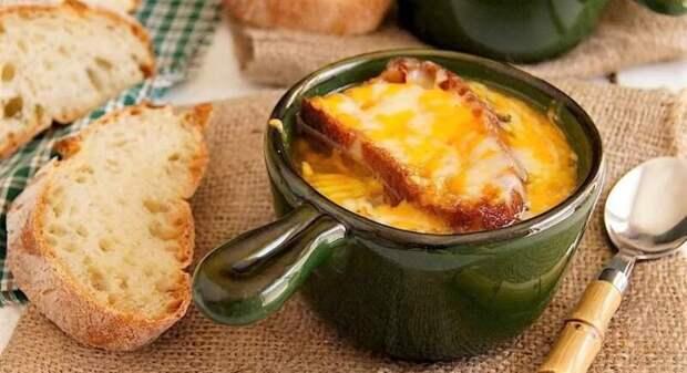 Луковый суп по-французски — рецепты лукового супа