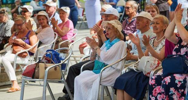 В Москве для горожан старшего возраста подготовили развлекательную программу. Фото: mos.ru