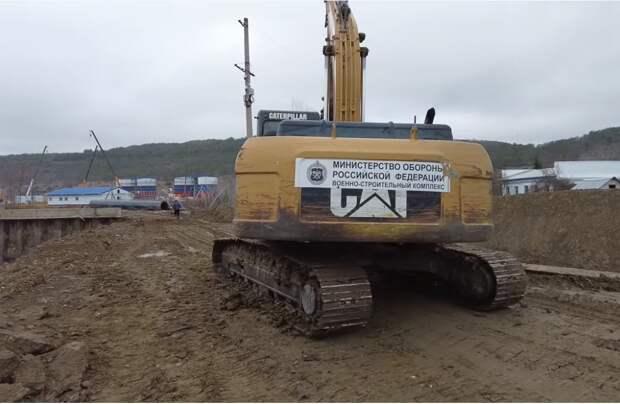Фото со строительства Бельбекского водозабора в Крыму.