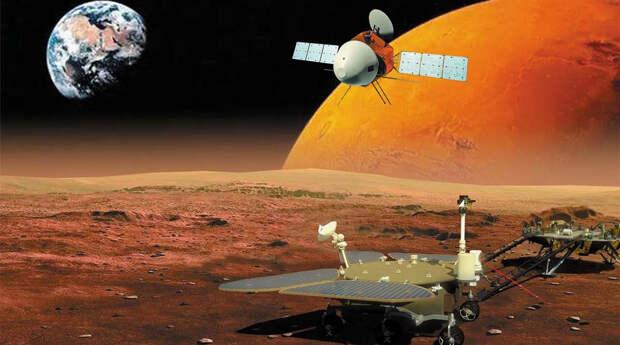 Третьим будет: китайский аппарат долетел до Марса