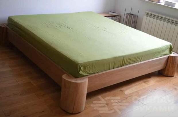 Как сделать кровать на скорую руку (один из самых простых способов)
