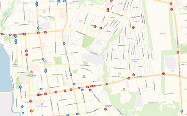 Движение трамваев и троллейбусов Ижевска в режиме онлайн появилось на картах Яндекса