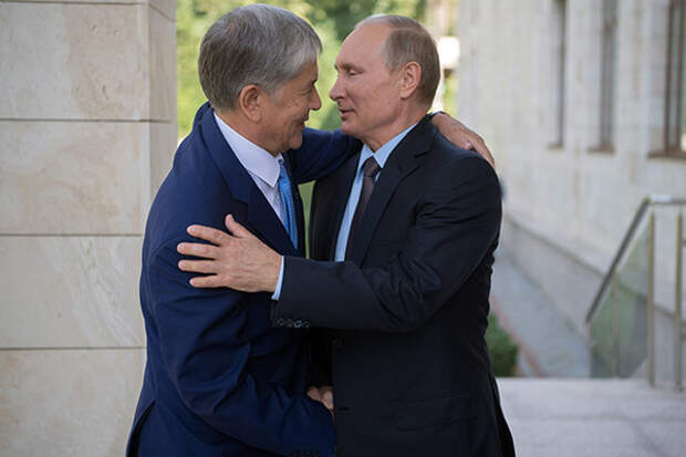 Захват власти в Киргизии