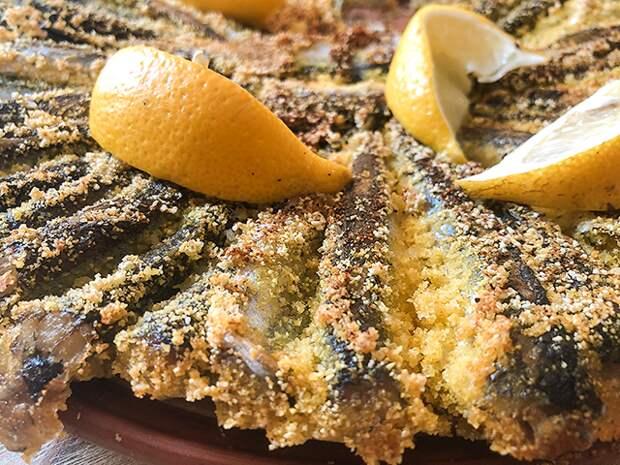 Рыбный день. Жареная салака