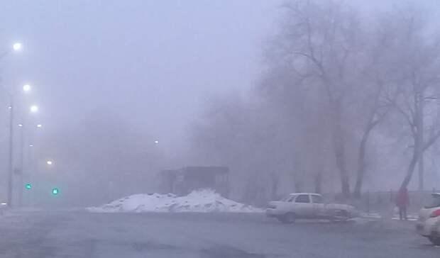 Оренбургскую область накроет густым туманом