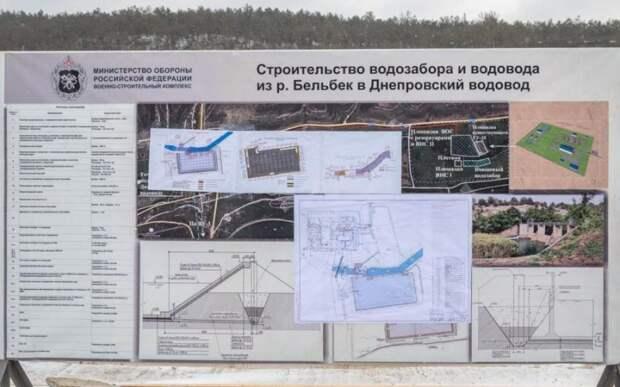 Как работает новый водозабор на реке Бельбек