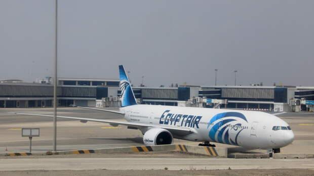 Сообщение об угрозе на рейсе Egypt Air оказалось ложным