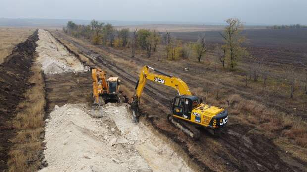 Во время рытья траншеи для Бештерек-Зуйского водовода нашли мины времен ВОВ